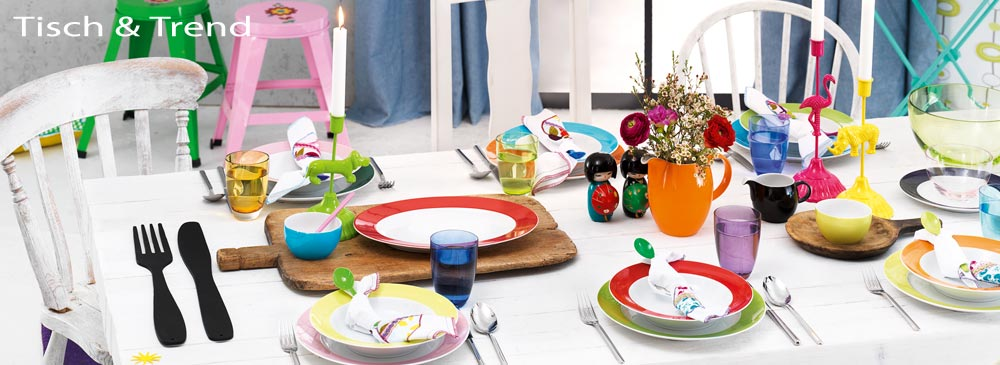 Tischdeko, Teller, Tassen, Geschirr, Geschenkartikel